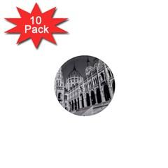 Architecture Parliament Landmark 1  Mini Magnet (10 Pack)  by Nexatart