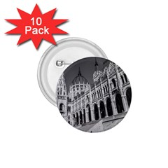 Architecture Parliament Landmark 1 75  Buttons (10 Pack) by Nexatart