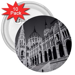 Architecture Parliament Landmark 3  Buttons (10 Pack)  by Nexatart