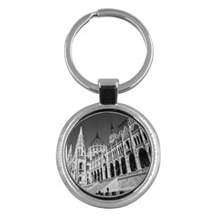 Architecture Parliament Landmark Key Chains (round)