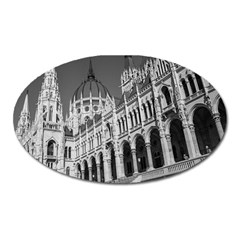 Architecture Parliament Landmark Oval Magnet