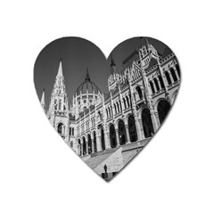 Architecture Parliament Landmark Heart Magnet by Nexatart