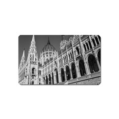 Architecture Parliament Landmark Magnet (name Card) by Nexatart