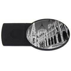 Architecture Parliament Landmark Usb Flash Drive Oval (2 Gb) by Nexatart