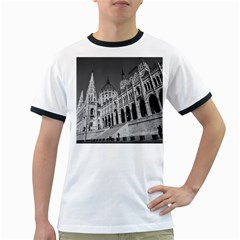 Architecture Parliament Landmark Ringer T Shirts by Nexatart