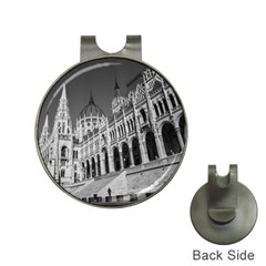 Architecture Parliament Landmark Hat Clips With Golf Markers