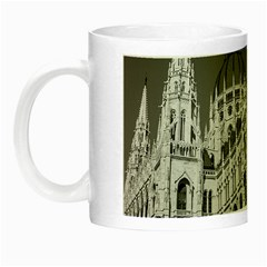 Architecture Parliament Landmark Night Luminous Mugs by Nexatart