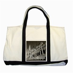 Architecture Parliament Landmark Two Tone Tote Bag