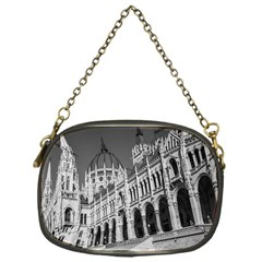 Architecture Parliament Landmark Chain Purses (one Side)  by Nexatart