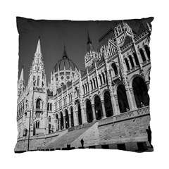 Architecture Parliament Landmark Standard Cushion Case (two Sides) by Nexatart