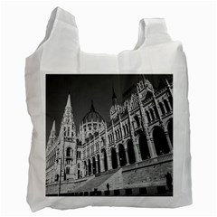 Architecture Parliament Landmark Recycle Bag (one Side)