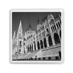 Architecture Parliament Landmark Memory Card Reader (square)  by Nexatart
