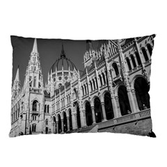Architecture Parliament Landmark Pillow Case (two Sides)