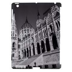 Architecture Parliament Landmark Apple Ipad 3/4 Hardshell Case (compatible With Smart Cover)