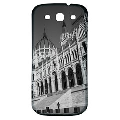 Architecture Parliament Landmark Samsung Galaxy S3 S Iii Classic Hardshell Back Case by Nexatart