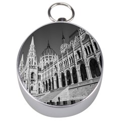 Architecture Parliament Landmark Silver Compasses