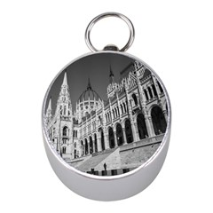 Architecture Parliament Landmark Mini Silver Compasses by Nexatart