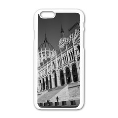 Architecture Parliament Landmark Apple Iphone 6/6s White Enamel Case by Nexatart