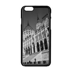 Architecture Parliament Landmark Apple Iphone 6/6s Black Enamel Case by Nexatart