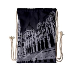 Architecture Parliament Landmark Drawstring Bag (small)