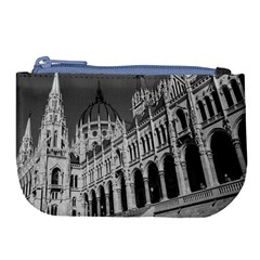 Architecture Parliament Landmark Large Coin Purse