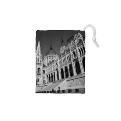 Architecture Parliament Landmark Drawstring Pouches (xs)  by Nexatart