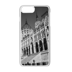 Architecture Parliament Landmark Apple Iphone 7 Plus White Seamless Case by Nexatart