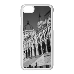 Architecture Parliament Landmark Apple Iphone 7 Seamless Case (white) by Nexatart