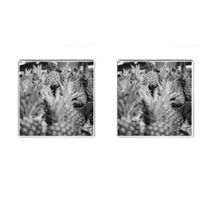 Pineapple Market Fruit Food Fresh Cufflinks (square) by Nexatart