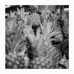 Pineapple Market Fruit Food Fresh Medium Glasses Cloth