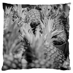 Pineapple Market Fruit Food Fresh Large Cushion Case (two Sides) by Nexatart