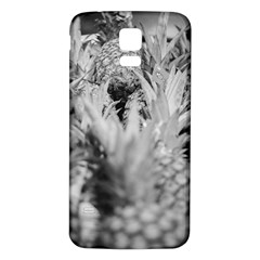 Pineapple Market Fruit Food Fresh Samsung Galaxy S5 Back Case (white) by Nexatart