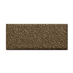 Leather Texture Brown Background Cosmetic Storage Cases