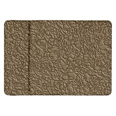 Leather Texture Brown Background Samsung Galaxy Tab 8 9  P7300 Flip Case