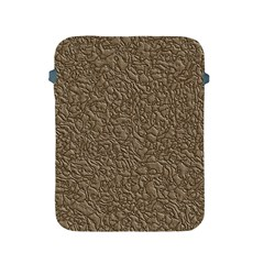 Leather Texture Brown Background Apple Ipad 2/3/4 Protective Soft Cases