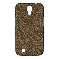 Leather Texture Brown Background Samsung Galaxy Mega 6 3  I9200 Hardshell Case by Nexatart