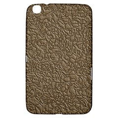 Leather Texture Brown Background Samsung Galaxy Tab 3 (8 ) T3100 Hardshell Case
