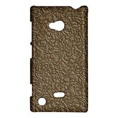 Leather Texture Brown Background Nokia Lumia 720
