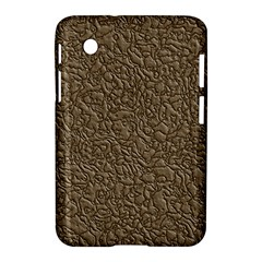 Leather Texture Brown Background Samsung Galaxy Tab 2 (7 ) P3100 Hardshell Case