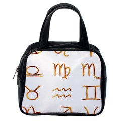 Signs Of The Zodiac Zodiac Aries Classic Handbags (one Side) by Nexatart