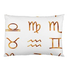 Signs Of The Zodiac Zodiac Aries Pillow Case by Nexatart