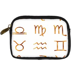 Signs Of The Zodiac Zodiac Aries Digital Camera Cases by Nexatart