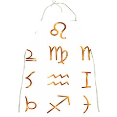Signs Of The Zodiac Zodiac Aries Full Print Aprons by Nexatart