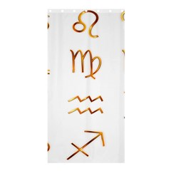 Signs Of The Zodiac Zodiac Aries Shower Curtain 36  X 72  (stall)