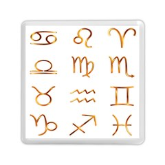 Signs Of The Zodiac Zodiac Aries Memory Card Reader (square)