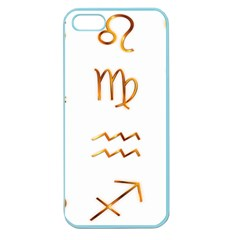 Signs Of The Zodiac Zodiac Aries Apple Seamless Iphone 5 Case (color)