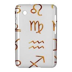 Signs Of The Zodiac Zodiac Aries Samsung Galaxy Tab 2 (7 ) P3100 Hardshell Case