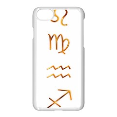 Signs Of The Zodiac Zodiac Aries Apple Iphone 7 Seamless Case (white)
