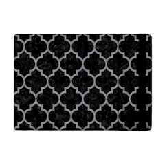 Tile1 Black Marble & Gray Colored Pencil Apple Ipad Mini Flip Case