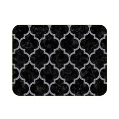 Tile1 Black Marble & Gray Colored Pencil Double Sided Flano Blanket (mini)  by trendistuff